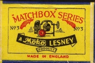 1st matchbox car with  box